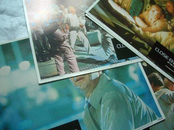 Vintage Movie Sci-fi 1980's aliens Memorabilia Spacehunter Doctor Detroit Close Encounters Press release Lobby Cards Francois Truffaut