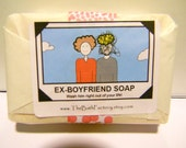 Ex Boyfriend Soap - Wash him right out of your life