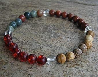 LEO - Zodiac Bracelet Crystal Healing Gemstone