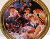 Vintage Auguste Renoir Luncheon of the Boating Party Tin