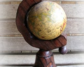 Hand Made Spinning Mini Globe Made in Spain