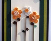 greeting card, any occasion, paper quilled art card