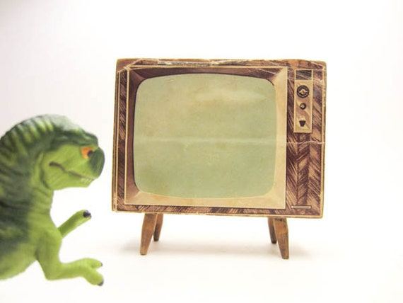 Funky Dollhouse Console Television