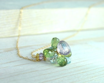 Flower Jewelry, Bridesmaid Gifts, Bridesmaid Jewelry, Gifts, Holiday Gifts, Dainty, Simple, Sweet