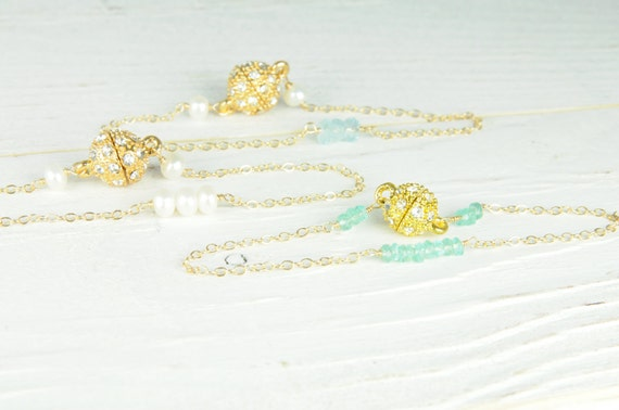 Beautiful bridesmaid bracelets