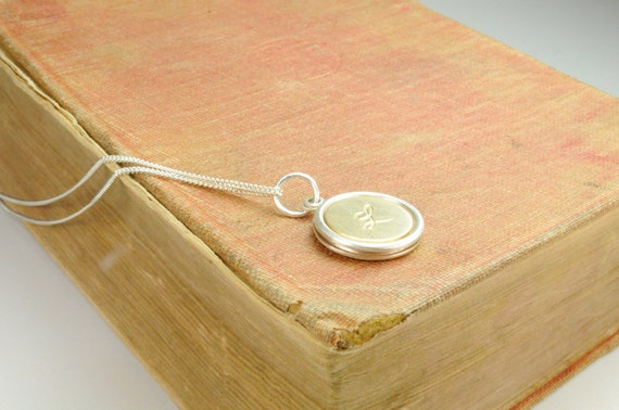 Initial Necklace, Necklace, Jewelry, Personalized Gifts, Mother, Grandmother, Keepsake Jewelry