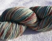 Gale Hawthorne, Inspired by The Hunger Games Movie, Hand dyed Tough Love Sock Yarn