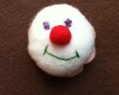 Endearing Clown Bottle Cap Pincushion