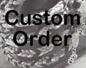 Custom Handfasting Cord - Reserved for Diana & Anthony