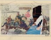 Washington Crossing The Delaware (Postcard)