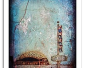 Cinerama Dome Movie Theater - Limited Art Print - Signed, Numbered 8x10""