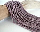 13/0 Charlotte True Cut Seed Bead Full Hank (Light Purple)