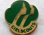 Vintage Girl Scouts of America Pin