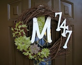 The Paisley Wreath Great Personalized Housewarming Gift