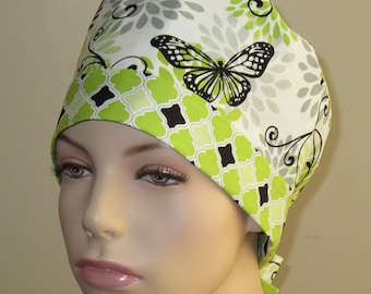 Scrub Hat - Butterfly Bloom