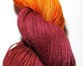 Hand-dyed BFL sock yarn- An-ewe-rysm
