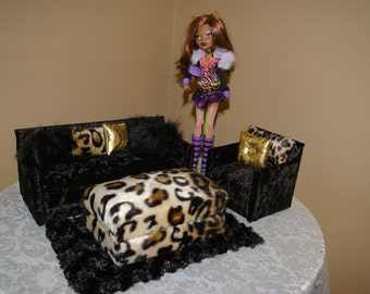 Monster high couch set