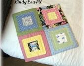 Pet Blanket - Pet Quilt - Home Decor - Pet Lover - Gladdy Paddy Mini - Pastel Tones