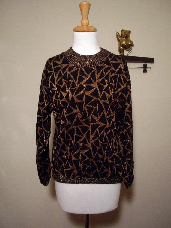 Triangle Geometric Shirt -- Bright Shapes -- Oversized Shirt -- Medium