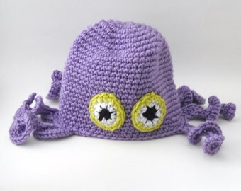 Octo-Purple Hat
