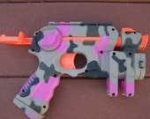 Reserved Listing (Shoppin4liz)  Pink/black Nerf Nite Finder EX3 Toy Dart Gun