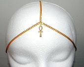 Ankh Cross Chained Crown