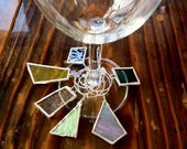 Stained Glass Wine Charms