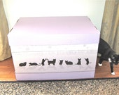Vanity Litter Box Free 1 Deluxe Scratch Pad made from recyclables-Save our Planet