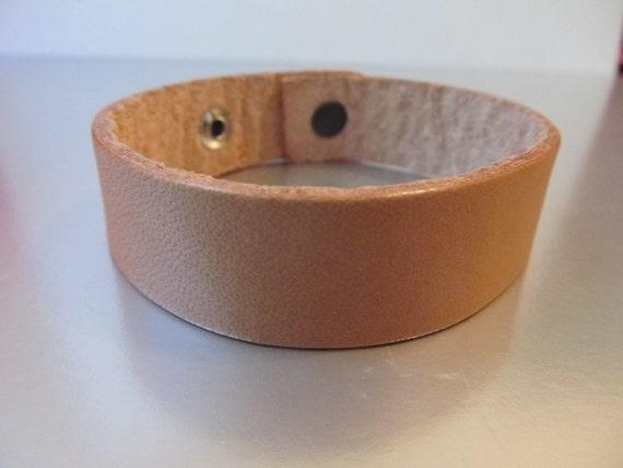 Tan Leather Bracelet