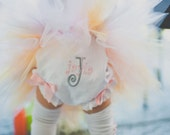 Custom Personalized Monogrammed 1st Birthday  Bloomers Diaper Covers   -Select Colors