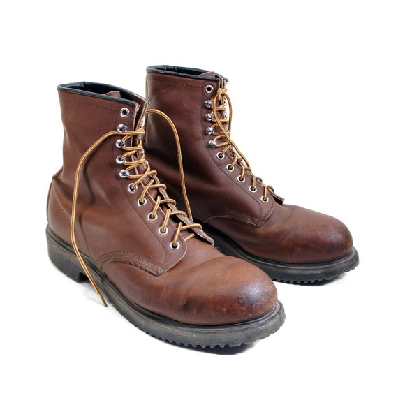 Red Wing Steel Toe Winter Boots | Planetary Skin Institute