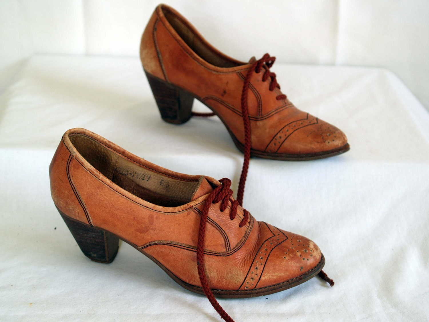 Vintage Oxford Womens Shoes