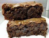 Gluten Free Chocolate Brownies - Vegan