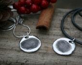 Fingerprint Sweetheart Necklaces - Fingerabdruck