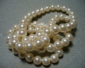 Glass Pearls Barely Pink 6mm