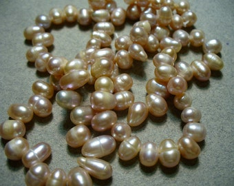 Freshwater PearlsTan or Natural Colored 7-8MM Full Strand