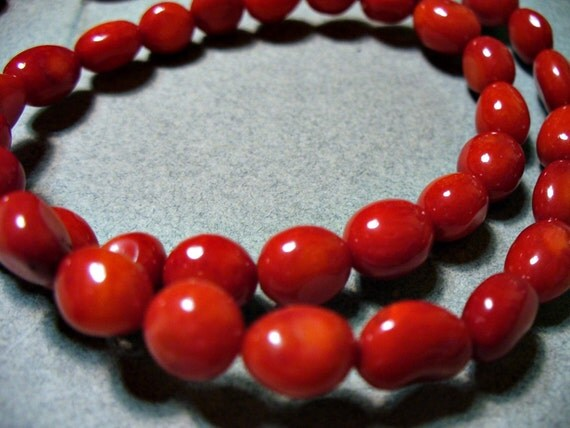 Red Coral Nuggets  5-8MM