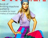 PDF Machine Knitting Booklet for Retro Garments Modelled by Twiggy - Instant Download