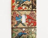 Comic light switch cover - Splatterhouse - Boys Room - Lighting