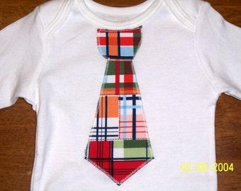 TieBodysuit  Any Size newborn to 24 months