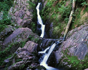 Morgan Falls, Nature Photography, Matted Landscape Photography