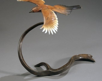 bronze magpie  - limited edition