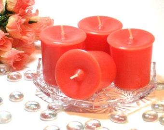 4 pack votive candles Fruit Slices scent