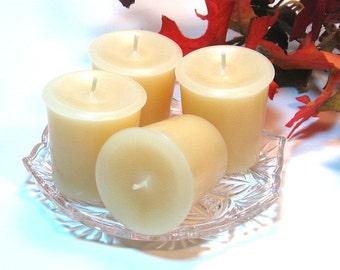 4 pack votive candles Vanilla Bean scent