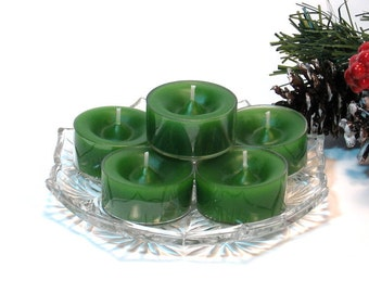 Tealight candles Bayberry scent set of six