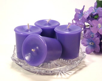Votive candles Lavender scent 4 pack