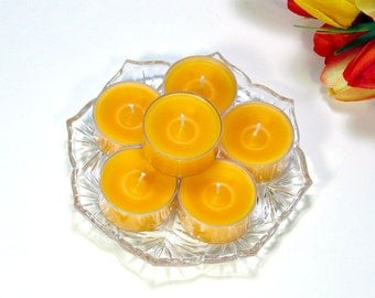 Tealight candles Mango and Papaya scent 6 pack