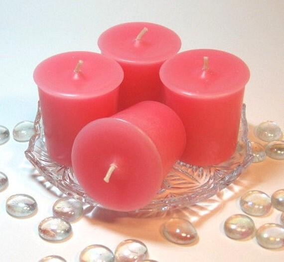 votive candles gardenia scent 4 pack