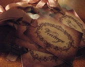 Distress    Vintage    Gift    Tags