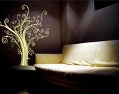 SPIRAL FLOWER Vinyl Wall Art Decal